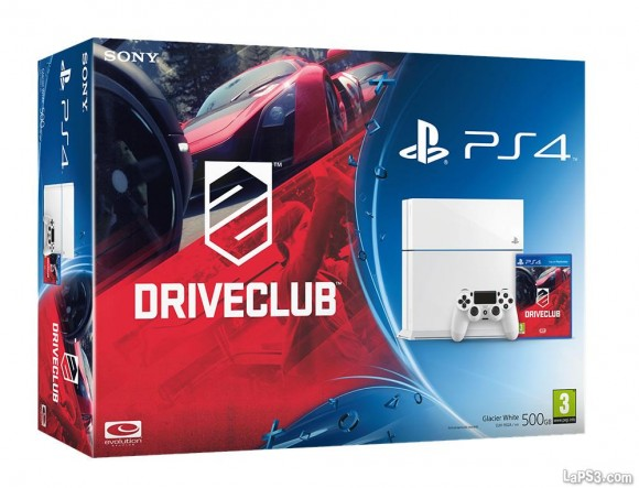 sony anuncia dos nuevos packs de consola m s driveclub. Black Bedroom Furniture Sets. Home Design Ideas