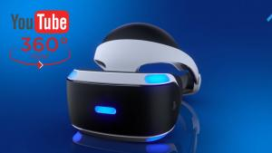 PlayStation VR ya es compatible con vídeos 360º de YouTube