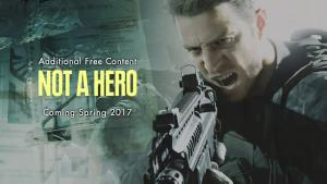Not a Hero, DLC gratuito de Resident Evil 7, tendrá a Chris Redfield como protagonista