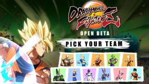 Confirmados los personajes jugables en la beta de Dragon Ball FighterZ