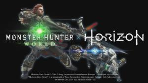 Da comienzo la colaboración entre Horizon Zero Dawn y Monster Hunter World