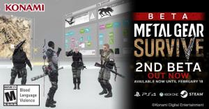 Comenzó la beta abierta de Metal Gear Survive
