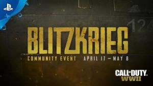 "Nuevo evento ""Blitkrieg"" en Call of Duty WWII"
