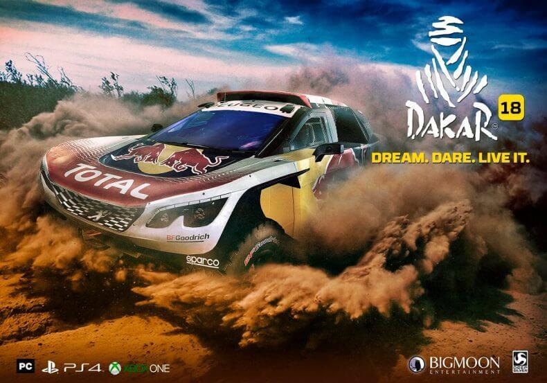 Dakar 18 ya tiene fecha de lanzamiento