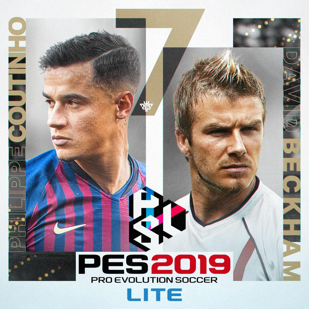 Ya está disponible la versión gratuita de PES 2019, PES 2019 LITE.