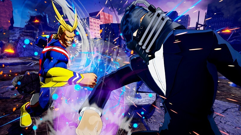 My Hero One's Justice presenta a All for One y el nuevo ataque  EX Plus Ultra