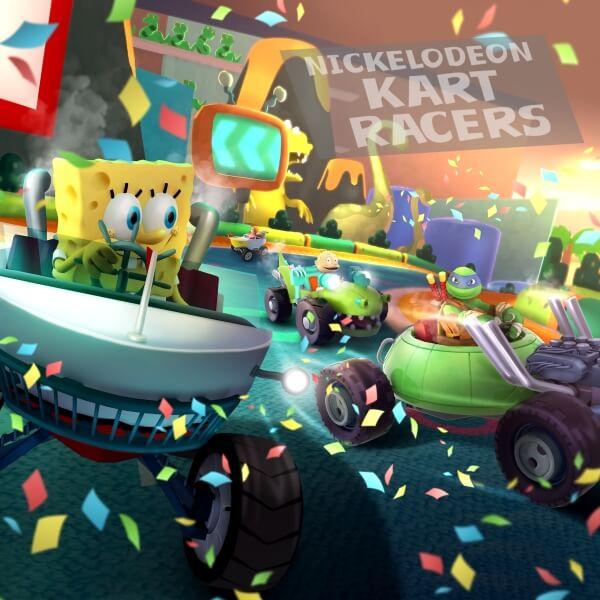 Anunciado Nickelodeon Kart Racers para PS4