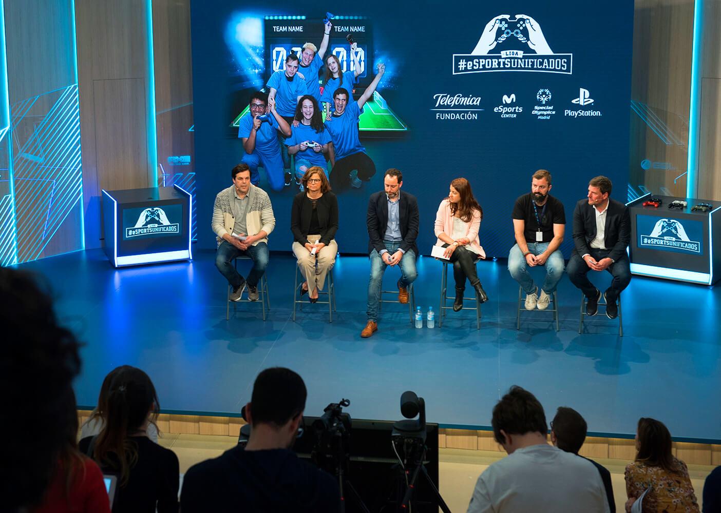 El I Campeonato de #eSportsUnificados del mundo comienza el próximo 2 de junio