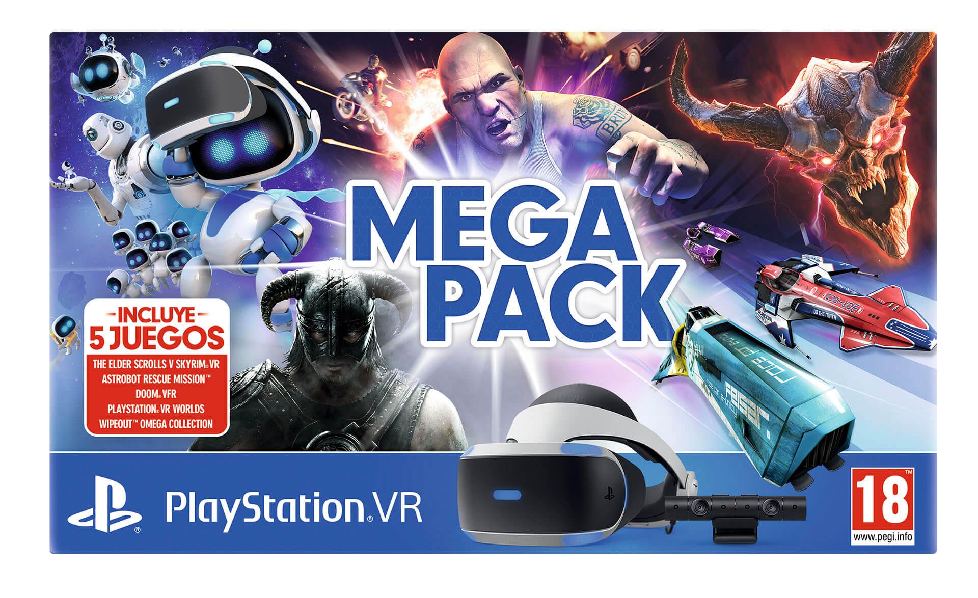 Sony anuncia un Mega Pack de PlayStation VR
