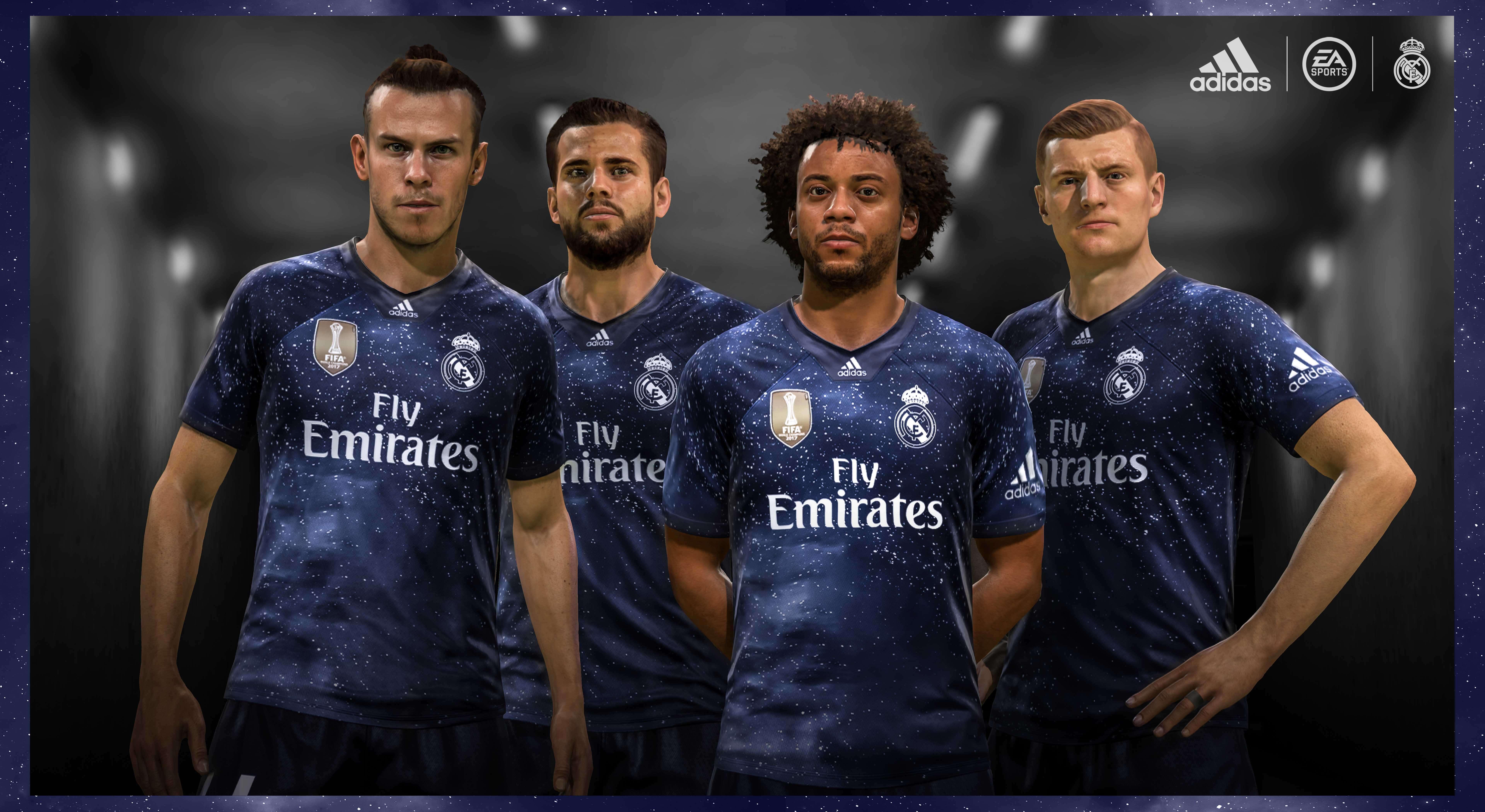 El Real Madrid C.F estrena equipación en EA SPORTS FIFA 19. Marco Asensio c442c15a62eb2