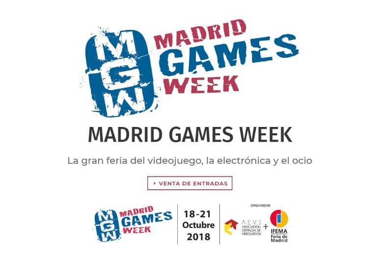 Madrid Games Week – Día 1
