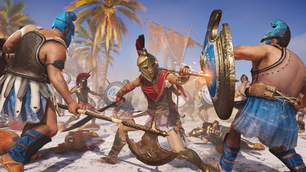 Ubisoft celebra la buena acogida de Assassin´s Creed Odyssey