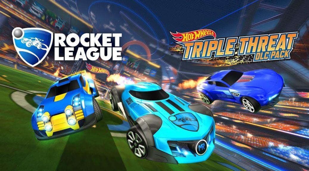 Nuevos autos de Hot Wheels se unirán a Rocket League