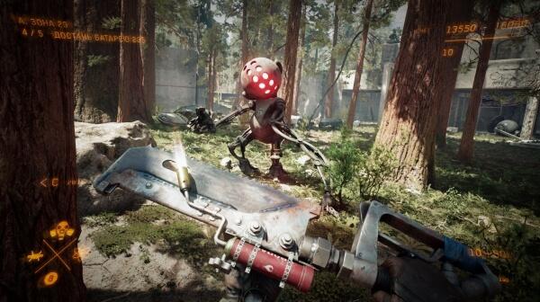 Atomic Heart hace gala de sus gráficos en un nuevo gameplay