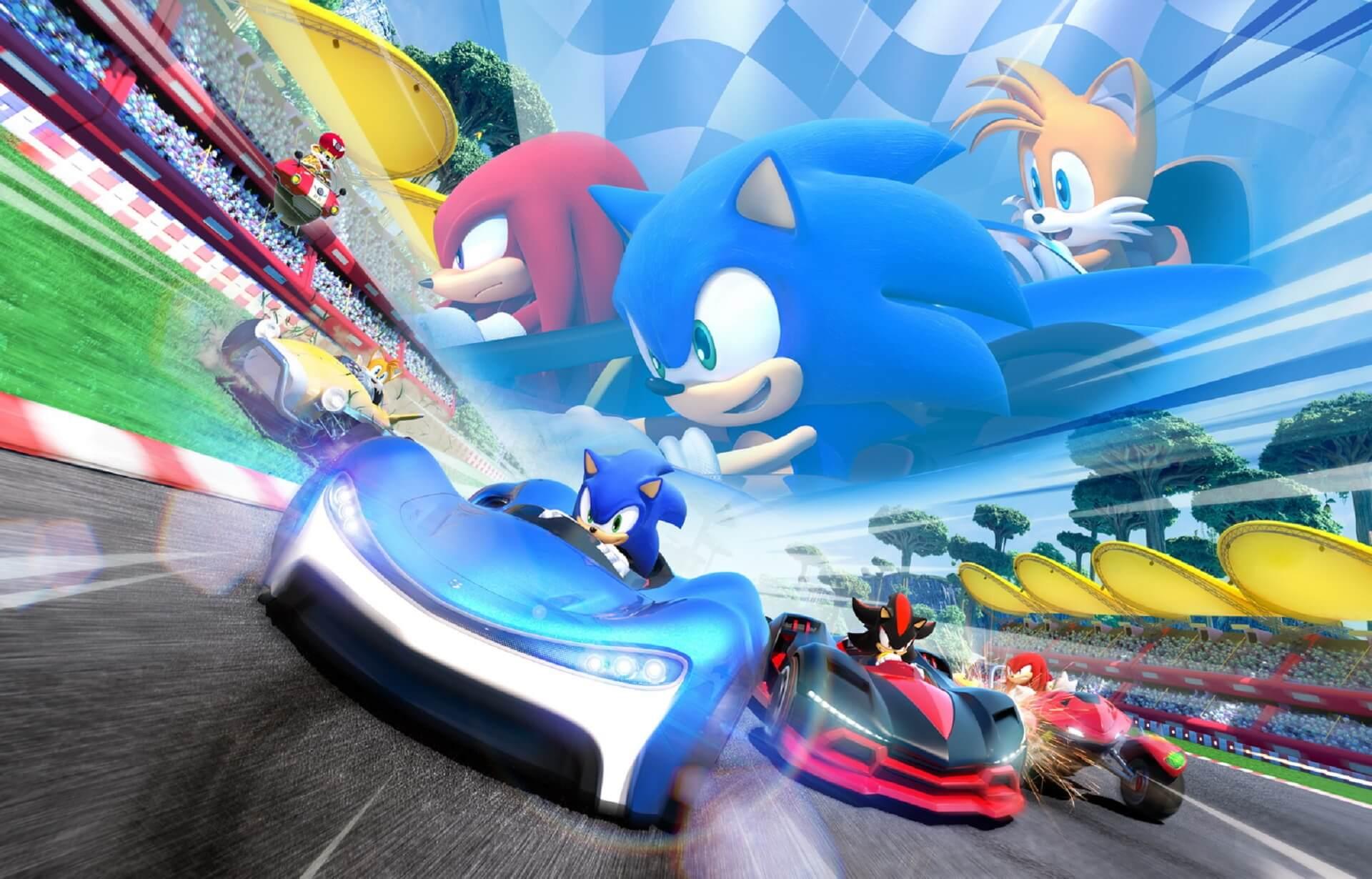 Team Sonic Racing presenta su mapa playero Ocean View