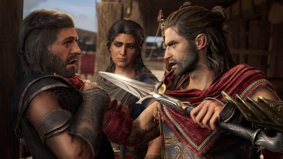 Alexios en Assassin's Creed Odyssey