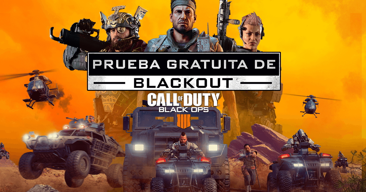 call of duty black ops 4 blackout gratis