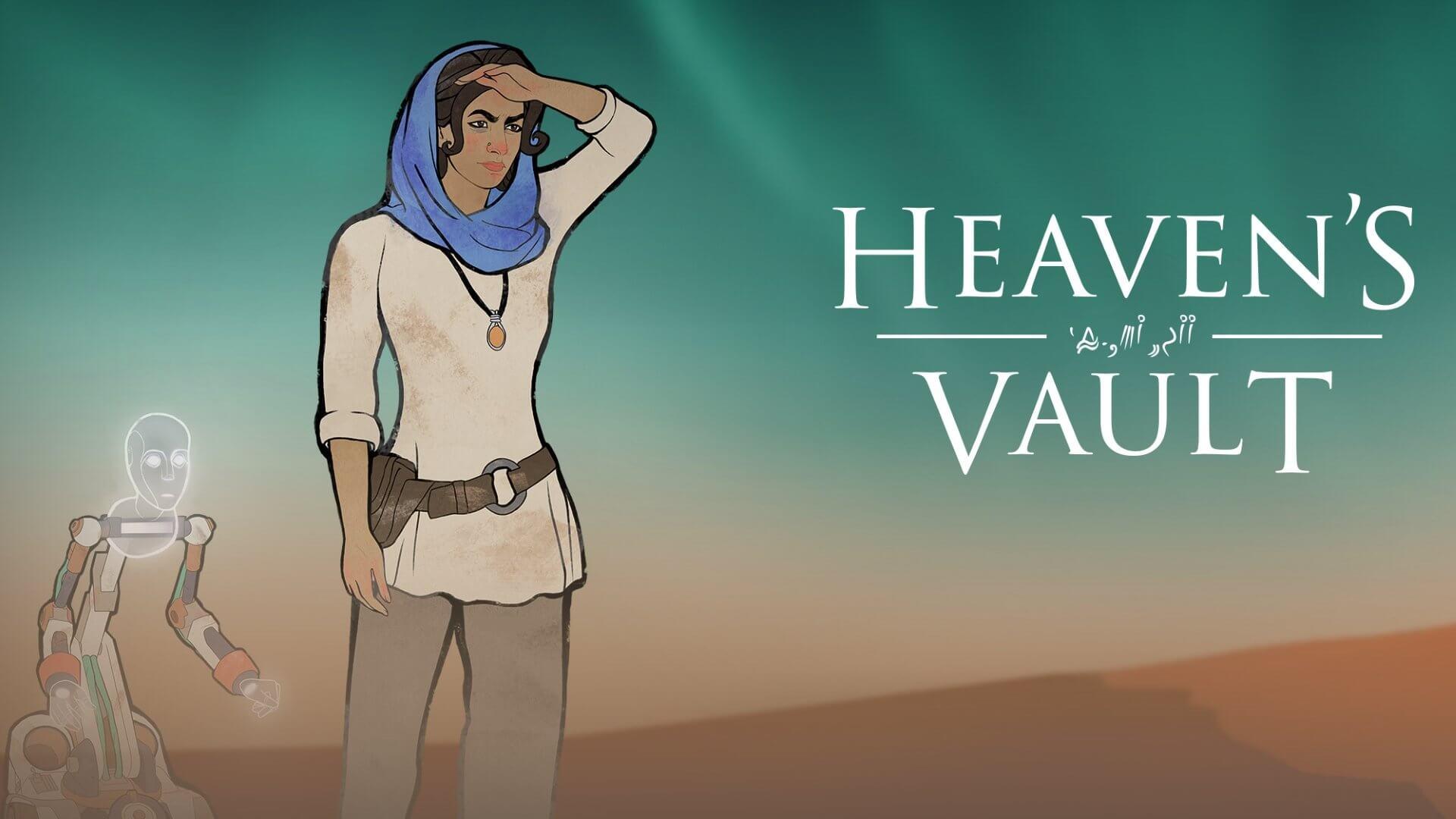 Aliya y Six en Heaven's Vault
