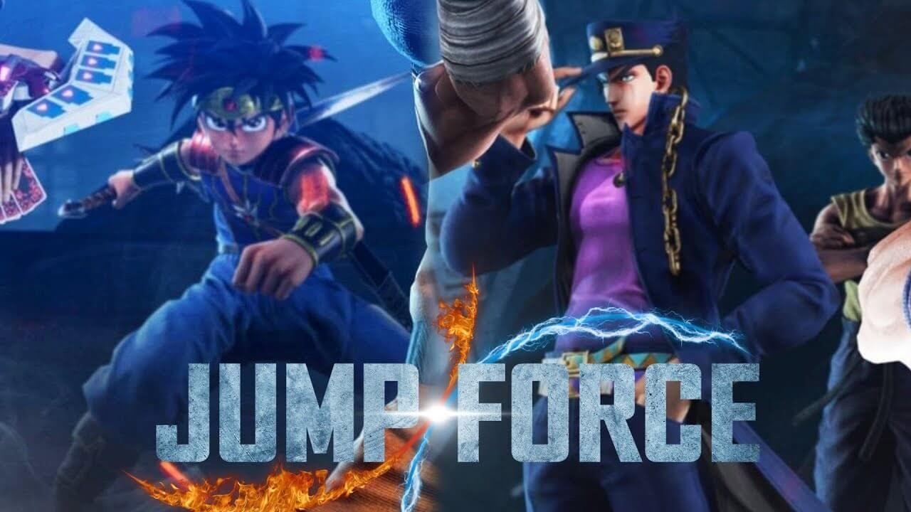 Fly y Jotaro en Jump Force