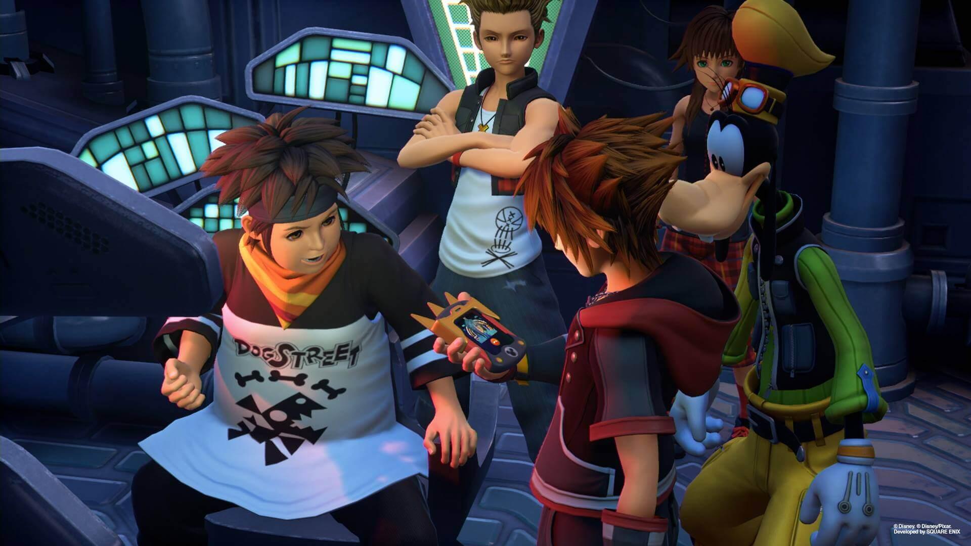 Protagonistas de Kingdom Hearts III