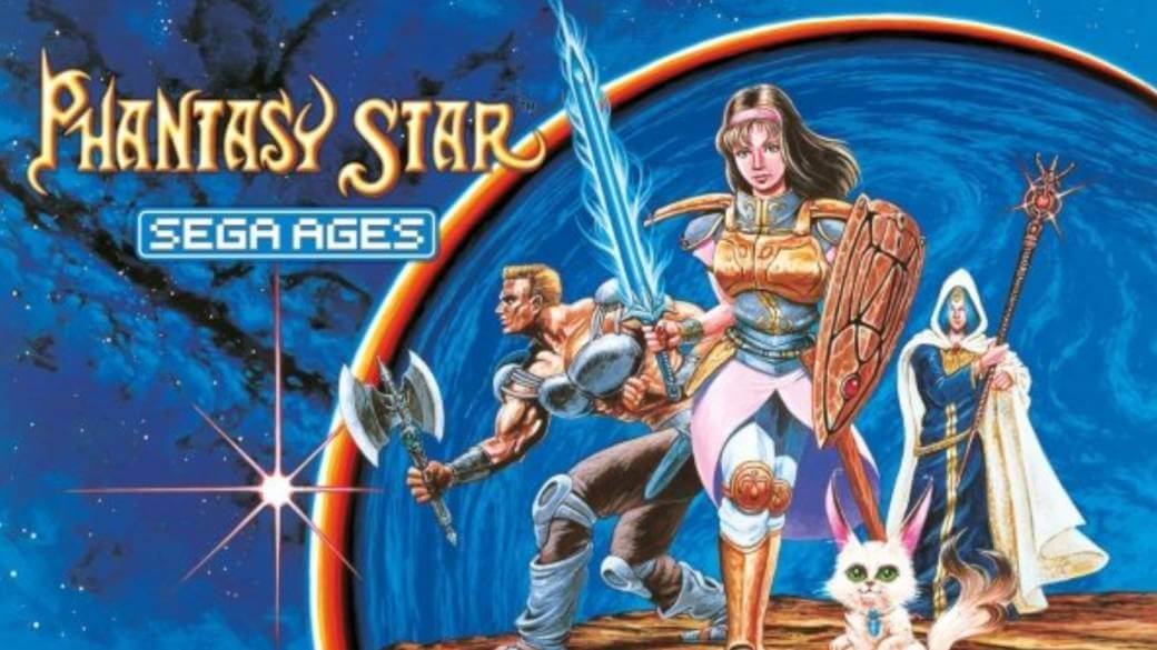 Protagonistas de Phantasy Star