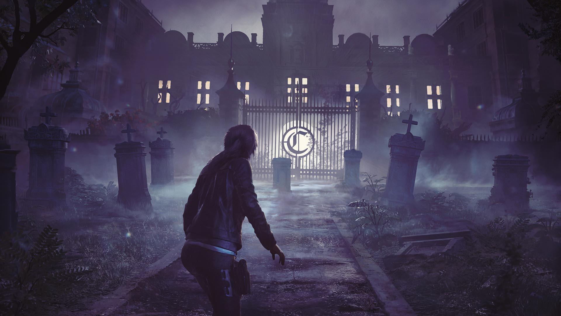 Lara entrando en la pesadilla