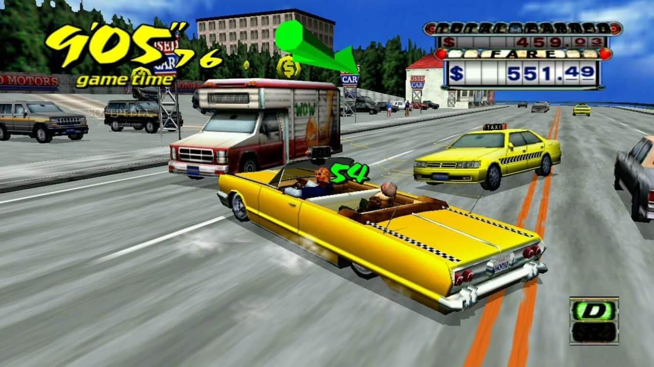 Crazy-Taxi-1 - Crazy Taxi PC Full Español - Juegos [Descarga]