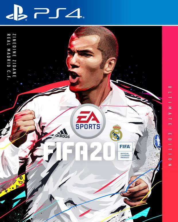 Zinedine Zidane será el rostro de fifa 20