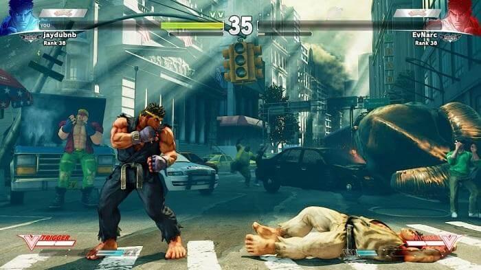 versión gratuita de Street Fighter V