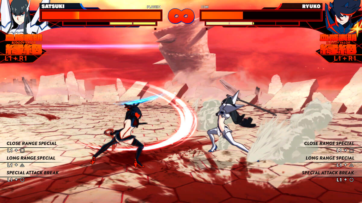 Gameplay Kill la Kill analisis ps4