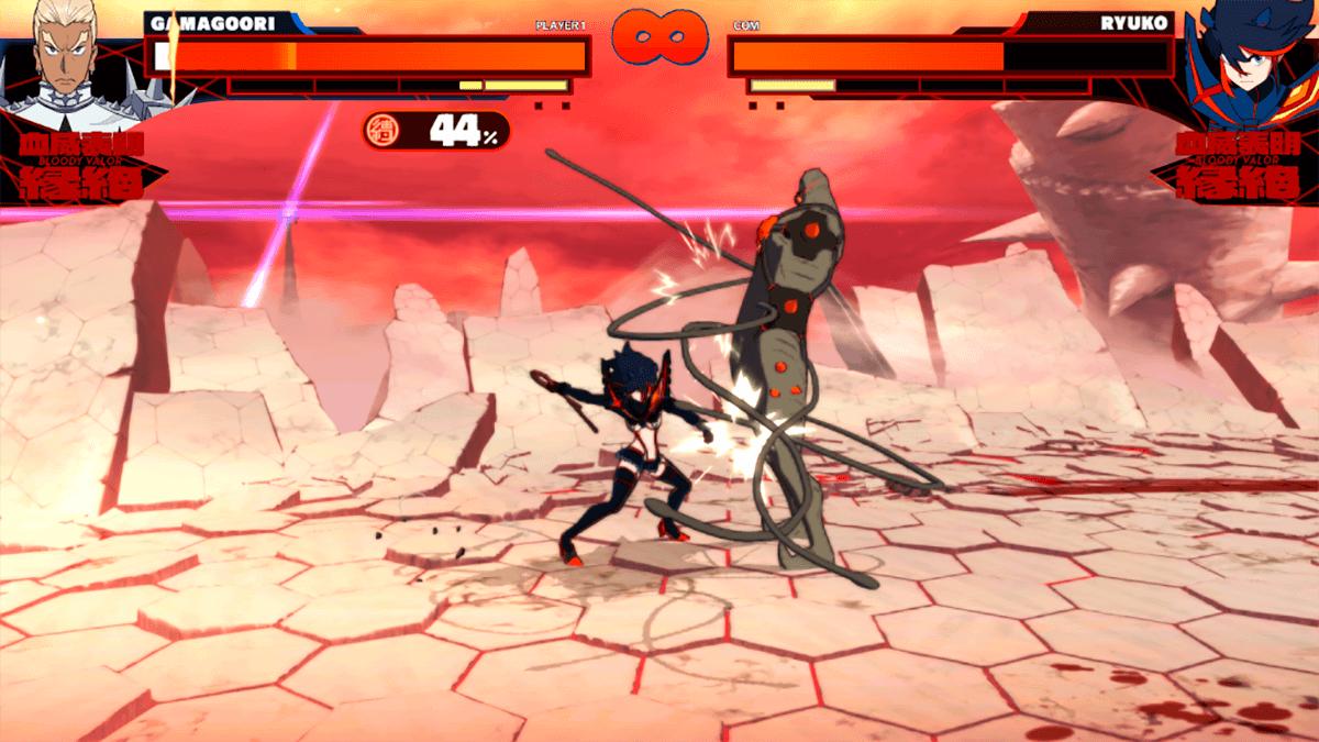 Sistema de combate Kill la Kill