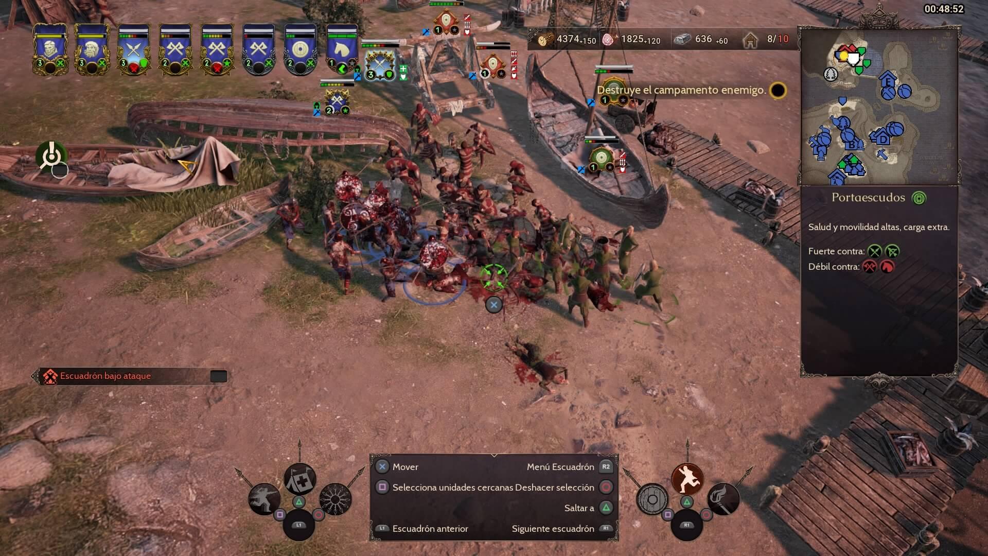 Las batallas en Ancestors Legacy