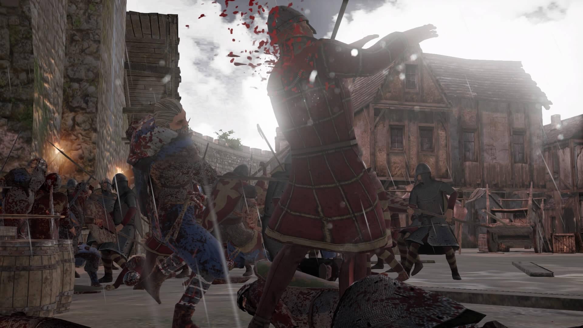 La violencia en Ancestors Legacy