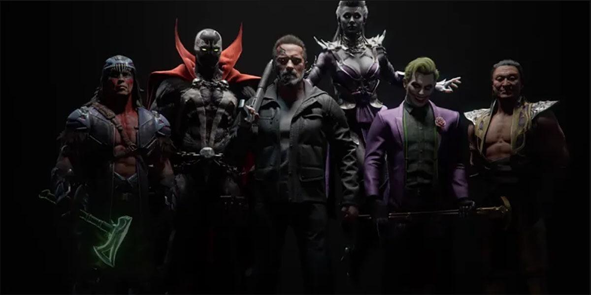 Nuevos personajes Mortal Kombat 11 DLC