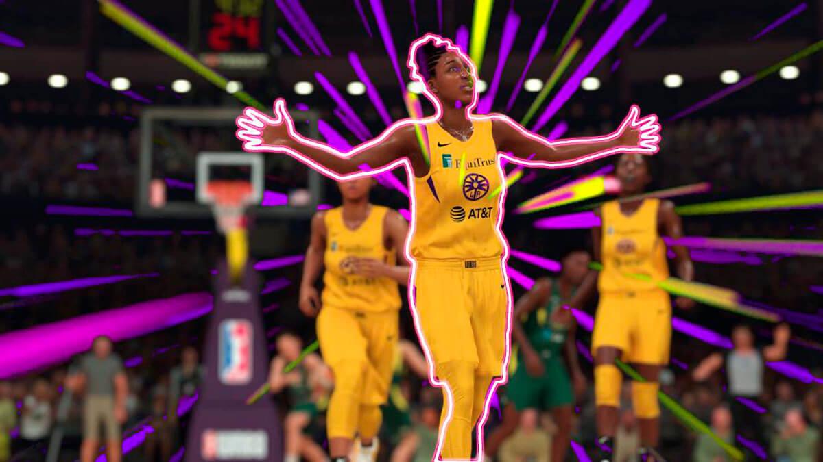 WNBA NBA 2K20 modos de juego