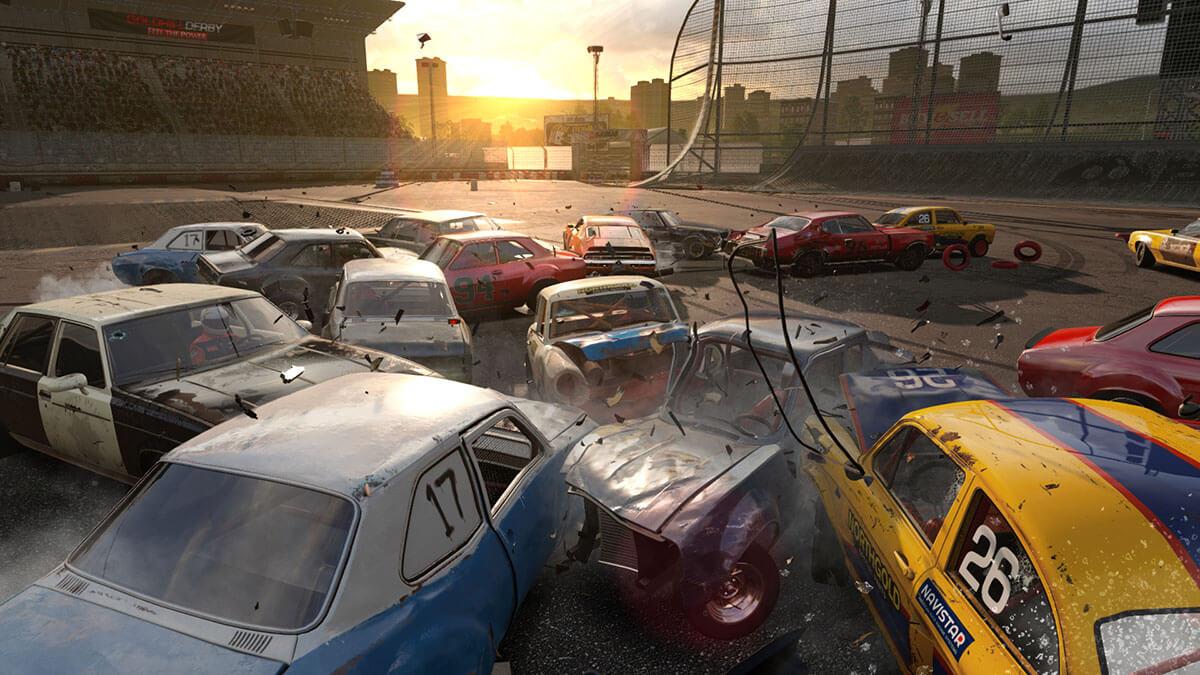 Wreckfest choques PS4