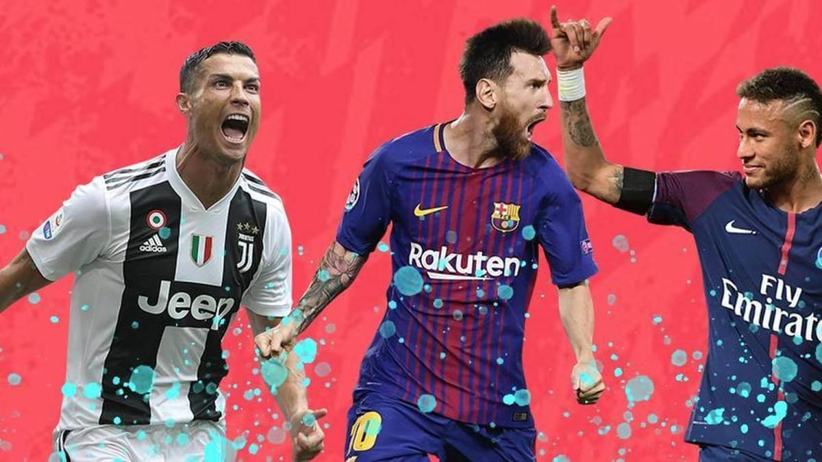 lista de los mejores jugadores de FIFA 20