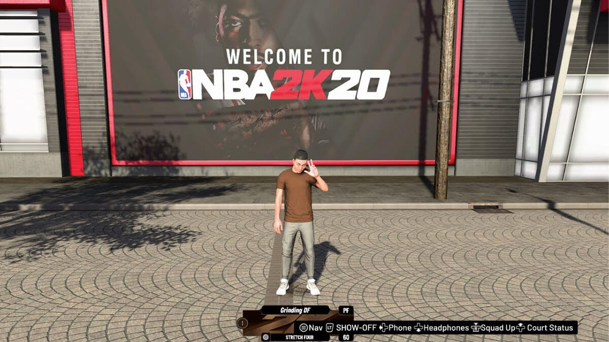 NBA 2K20 Barrio
