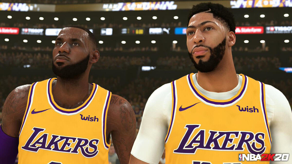 NBA 2K20 graficos y jugabilidad
