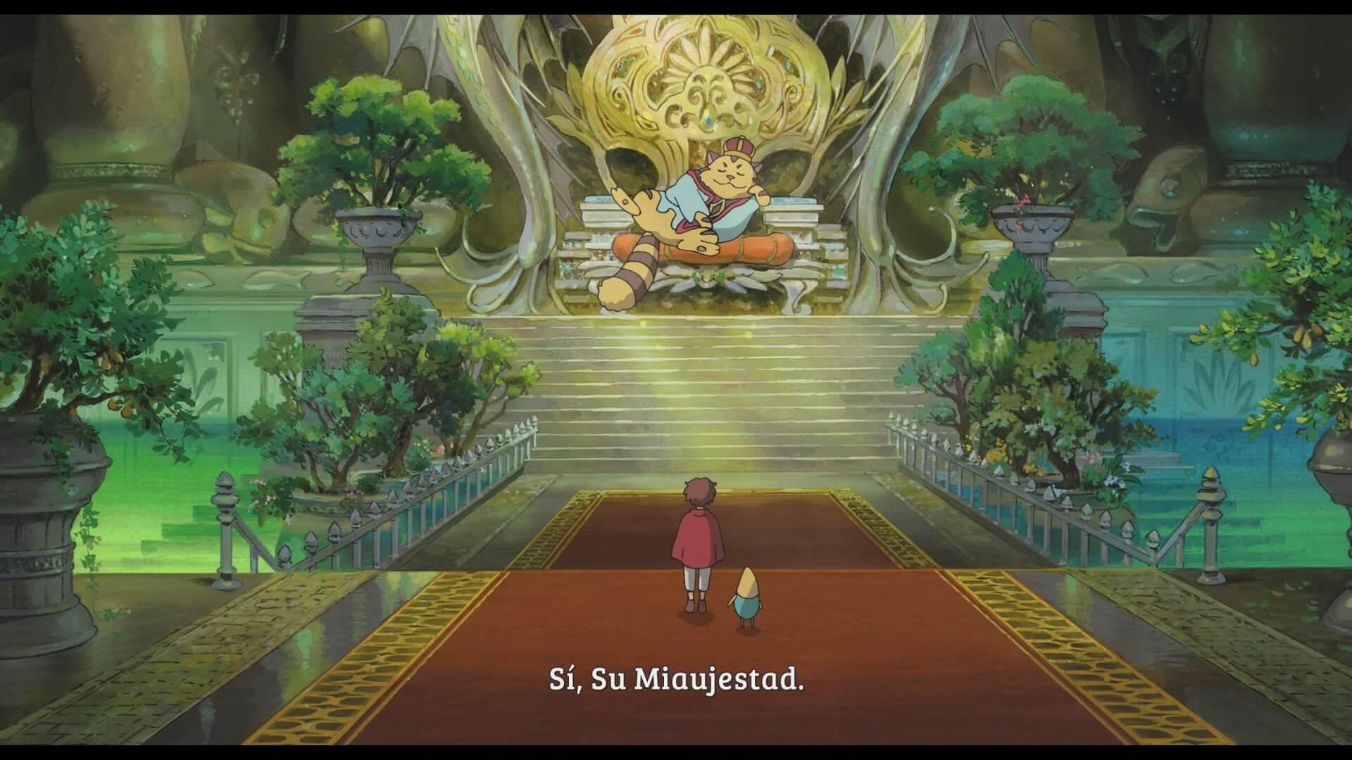 Escena anime de Ni no Kuni