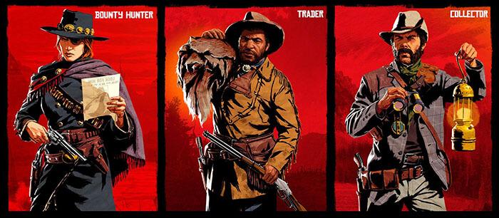 Roles en Red Dead Online