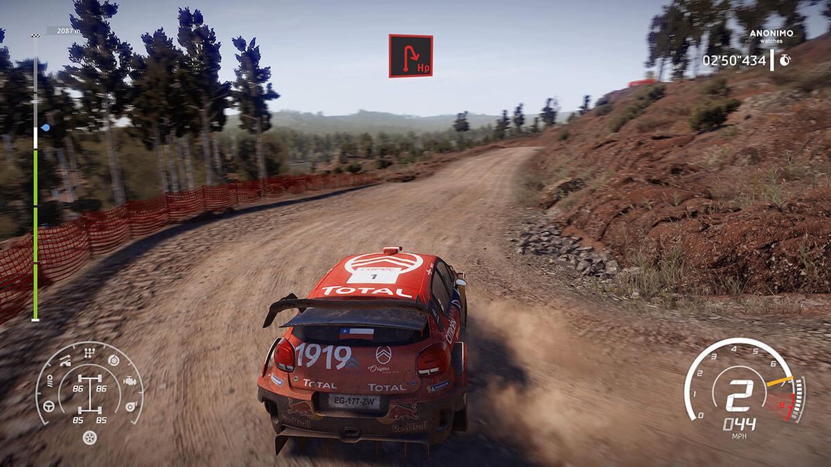 WRC 8 jugabilidad