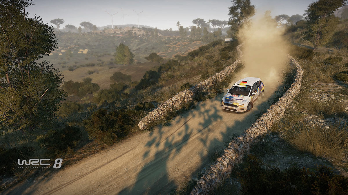 WRC 8 modo carrera