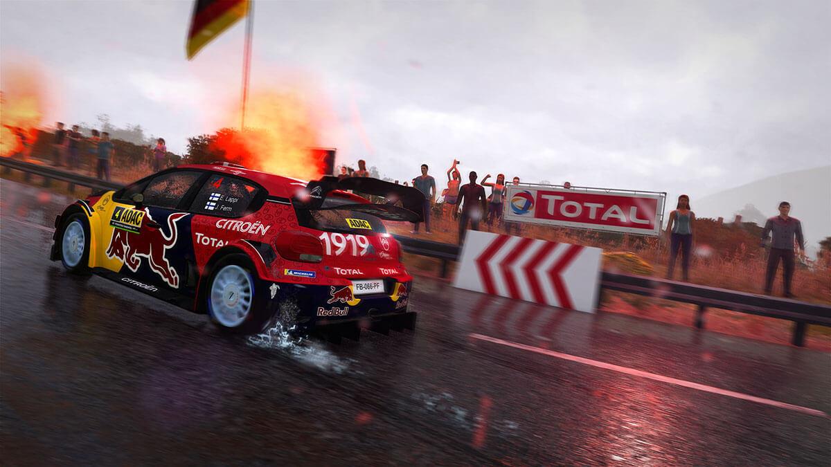 WRC 8 pantalla dividida
