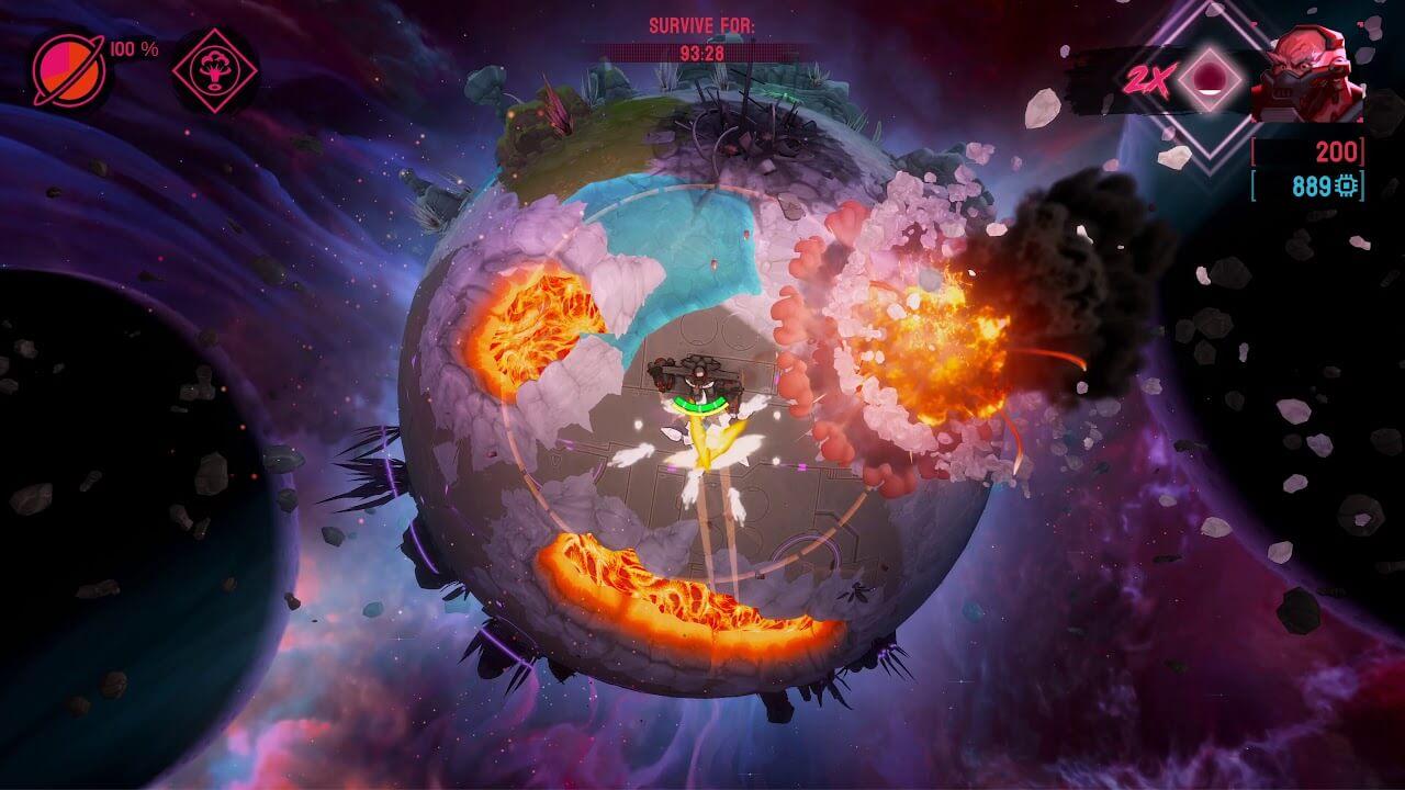 Battle Planet: Judgement Day gameplay