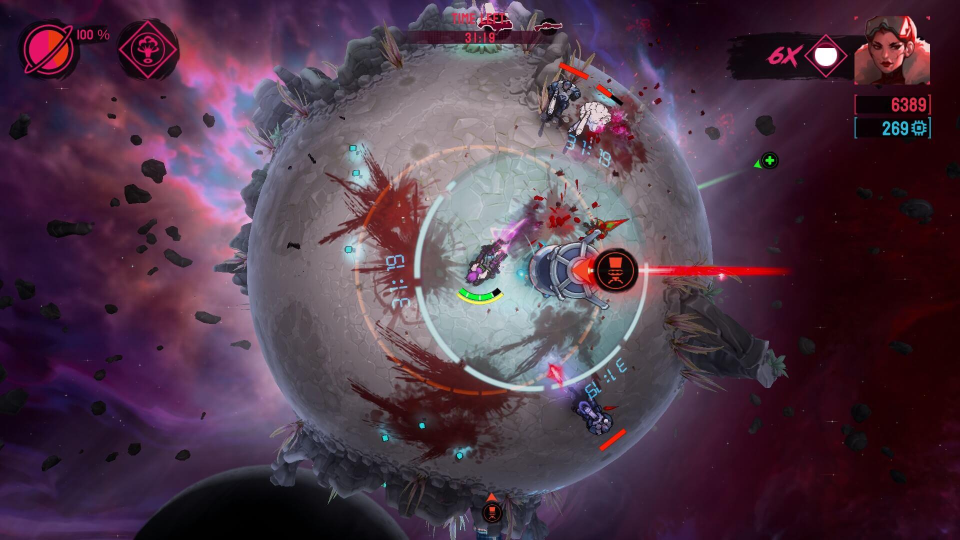 Battle Planet: Judgement Day mapas