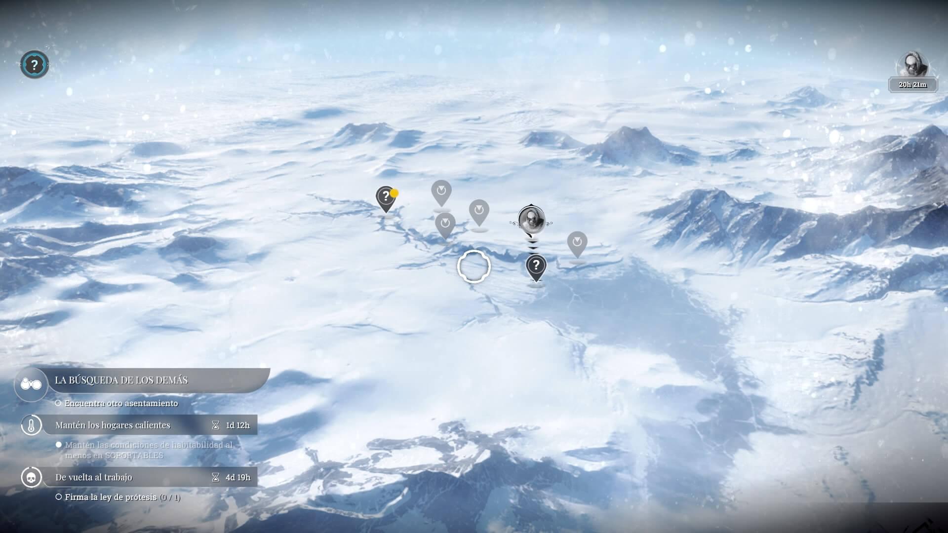 Mapa de exploración