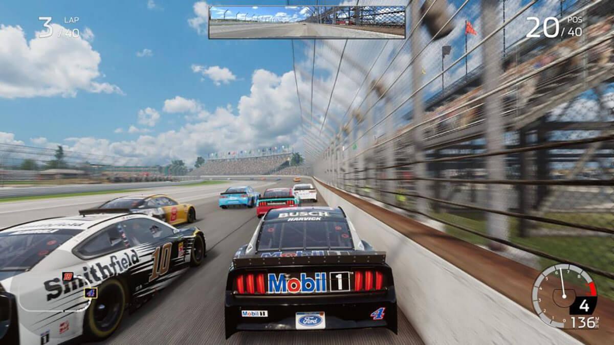 NASCAR HEAT 4 fisicas choques