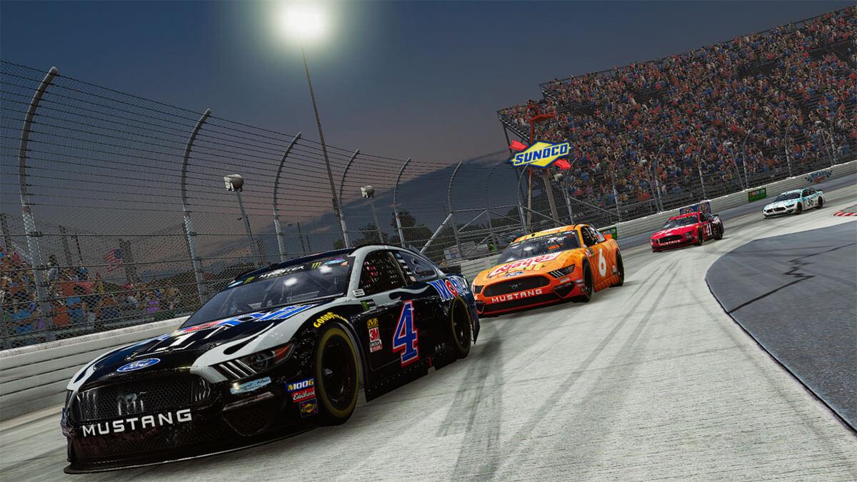 NASCAR Heat 4 calidad grafica