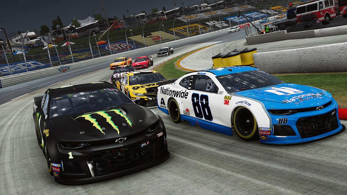 NASCAR Heat 4 fisica